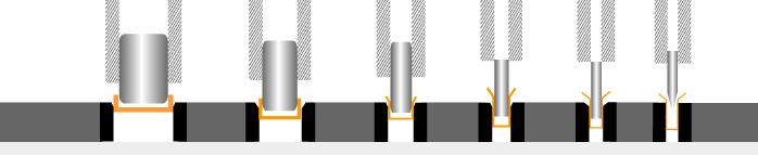 Deep drawing engineering drawing