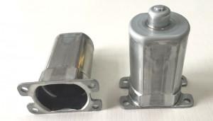 power window regulator motor housing